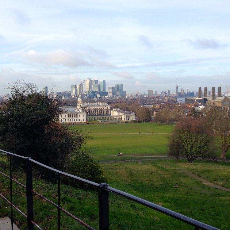 View from the Royal Greenwich Observatory
